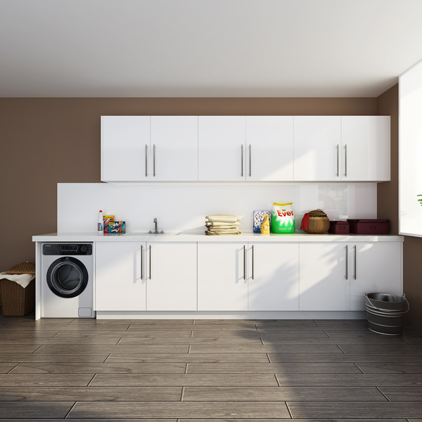 Australia Project High Gloss Design Lacquer Laundry Room Image