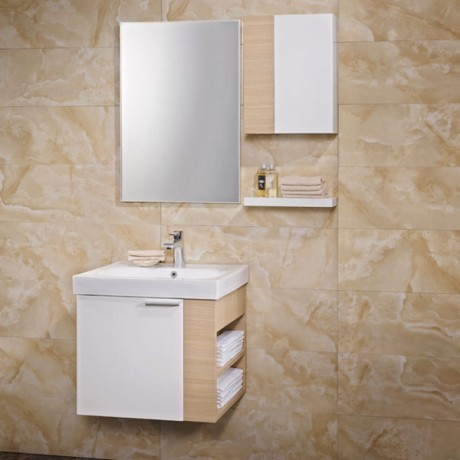 2015 Retail Cheap Modular Wooden Bathroom Vanity Image