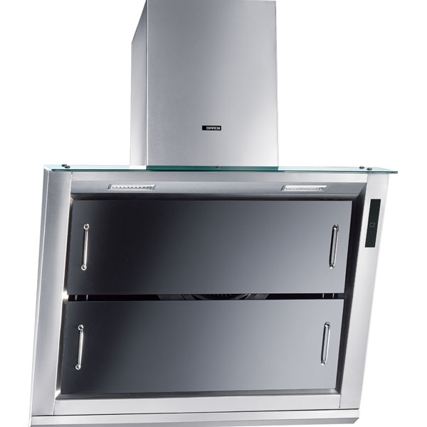 (Black): Wall Mounted Range Hood Image