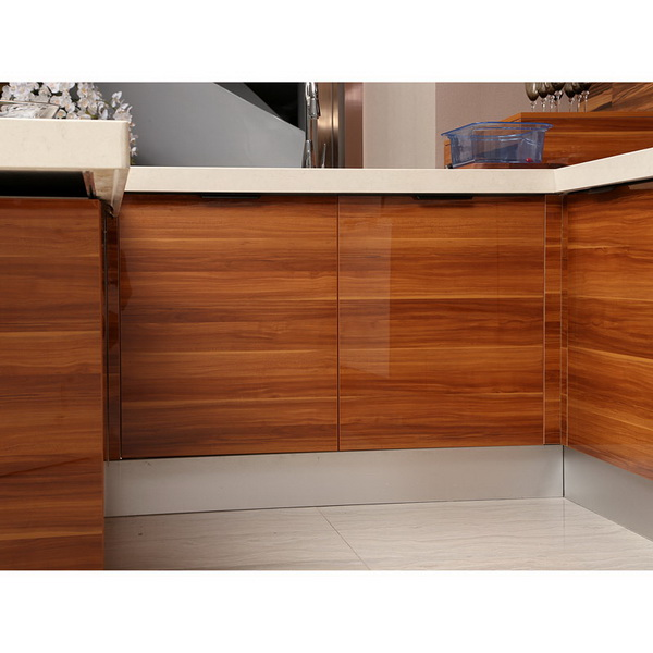 OP13-271: Fashionable UV Lacquer Kitchen Cabinet Image